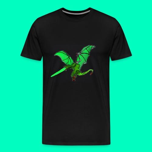 Gift speiender Drache - Männer Premium T-Shirt