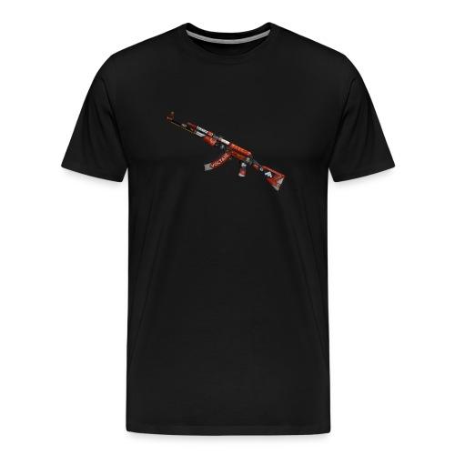 CSGO Blood sport Emblem - Premium-T-shirt herr