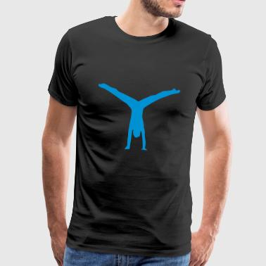 gymnast - Premium-T-shirt herr