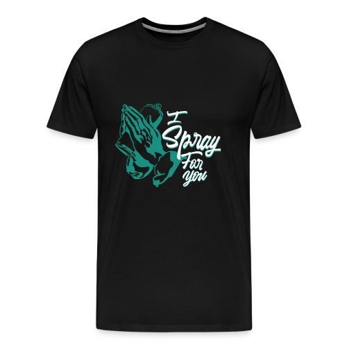 graffiti street tag religion spray hip hop banksy - T-shirt Premium Homme