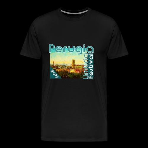 Perugia Umbria Festival Italy - Männer Premium T-Shirt