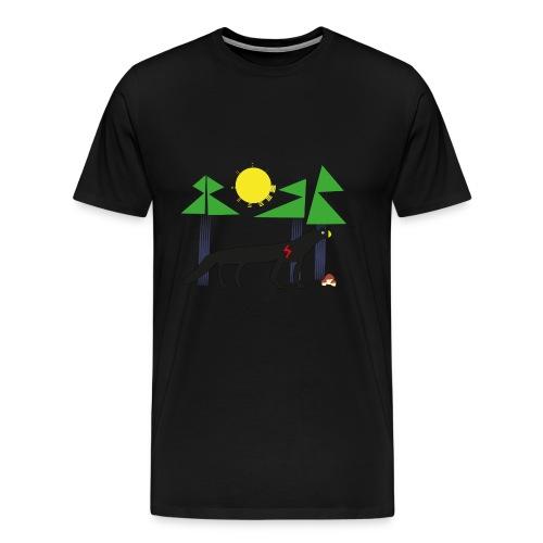 Black panter - Koszulka męska Premium