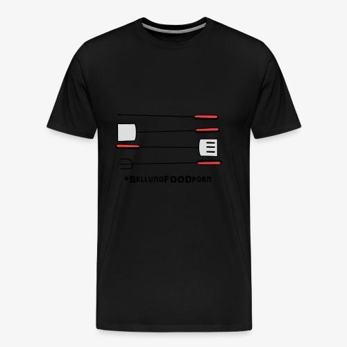 BBQ Belluno - Maglietta Premium da uomo