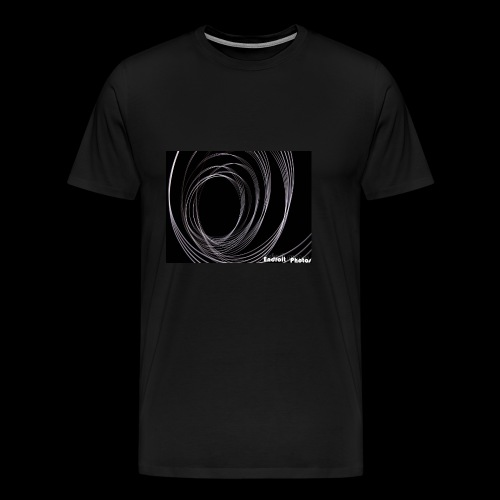 Lightpainting 2 - Männer Premium T-Shirt