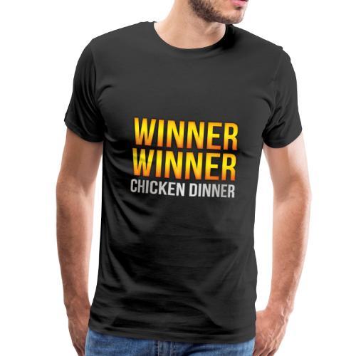 PUBG Winner Winner Chicken Dinner - Männer Premium T-Shirt