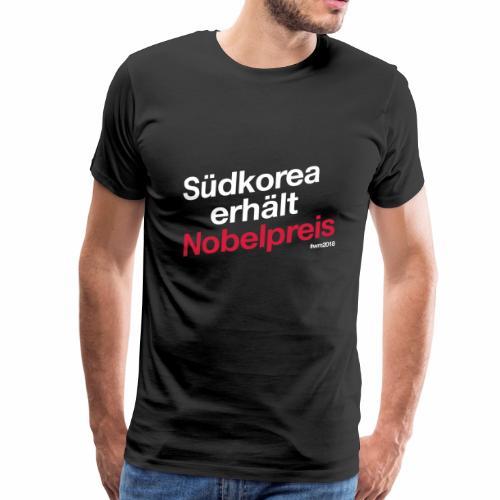 Südkorea erhält Nobelpreis - Männer Premium T-Shirt