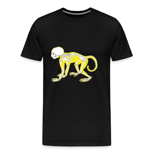 Le singe jaune - T-shirt Premium Homme