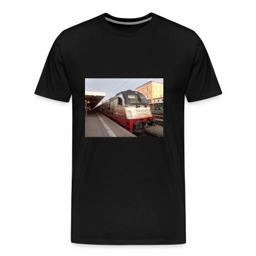 alex-Taurus 175 Jahre deutsche Eisenbahn - Männer Premium T-Shirt
