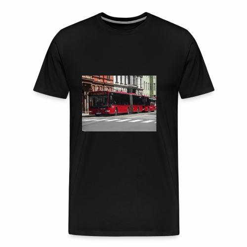 Een bus in Innsbruck - Mannen Premium T-shirt