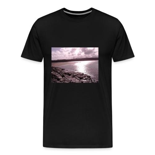 see side highied - Men's Premium T-Shirt