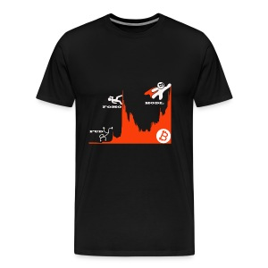 T shirt crypto Hodl - Mannen Premium T-shirt