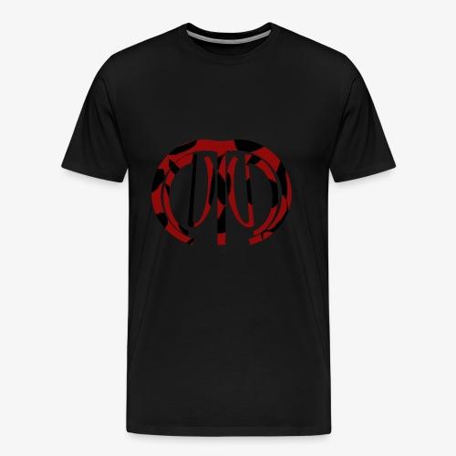 logo mnng effect 1 - Mannen Premium T-shirt