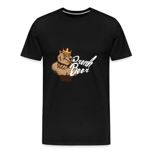 King PrenkBeer #1 - Mannen Premium T-shirt