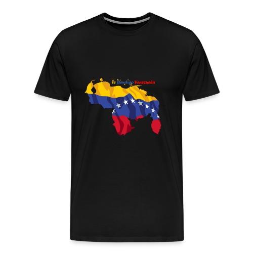 Bandera de Venezuela - Camiseta premium hombre