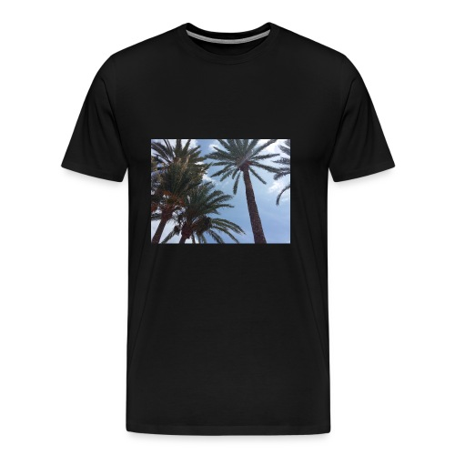 Palmendesign - Männer Premium T-Shirt