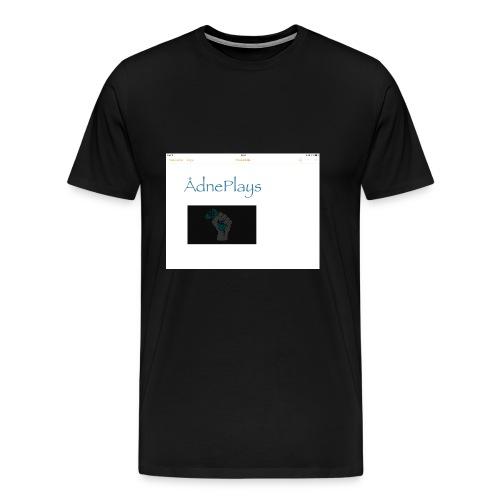 IMG_0436 - Premium T-skjorte for menn