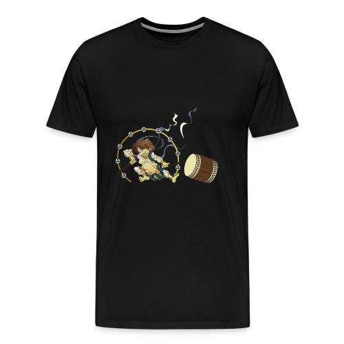 RAIIN mit Taiko und Bachi - Männer Premium T-Shirt