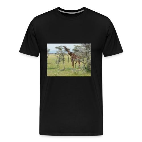 Giraff - Premium-T-shirt herr