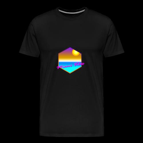 Miami Vibes - Männer Premium T-Shirt