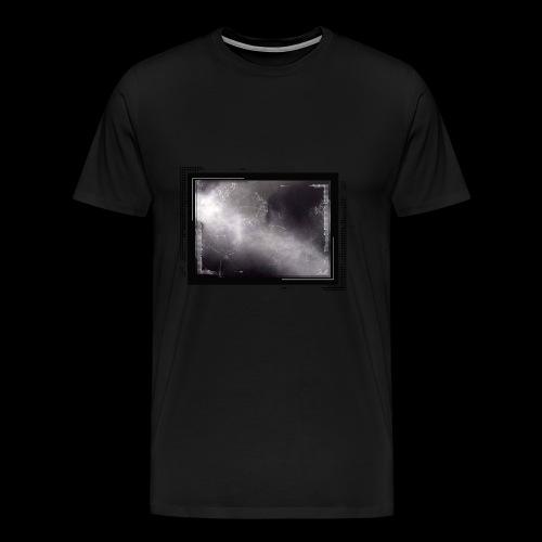Schwarze Kunst im Rahmen - Männer Premium T-Shirt