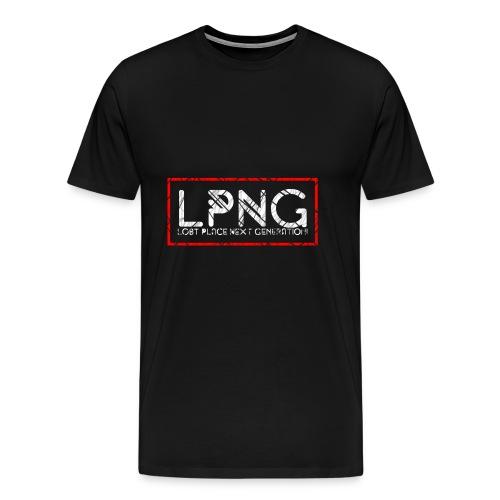 LPNG Logo LostPlaceNextGeneration - Männer Premium T-Shirt