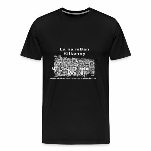 Lá na mban Kilkenny white - Men's Premium T-Shirt