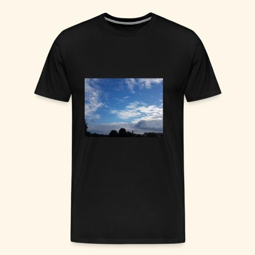 himmlisches Wolkenbild - Männer Premium T-Shirt