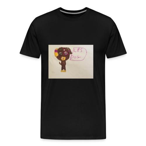 Little pets shop dog - Men's Premium T-Shirt
