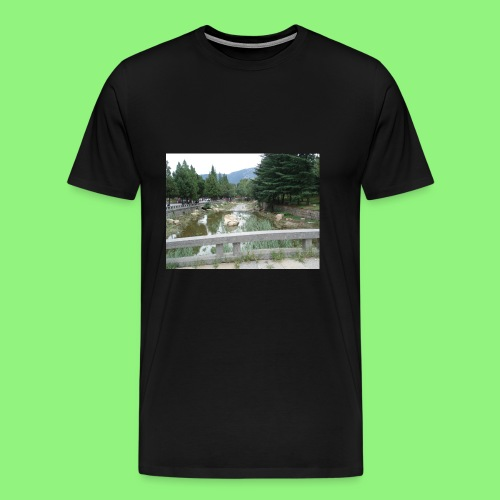 Fluss China 1400xX - Männer Premium T-Shirt