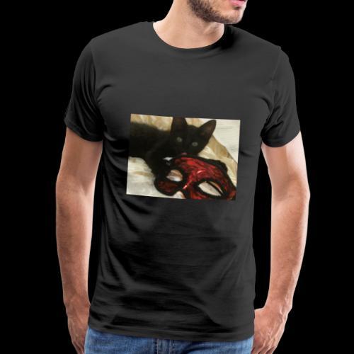 stickallbats mask my face - Men's Premium T-Shirt