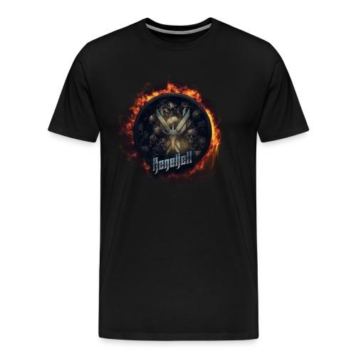 RH Logo TRANSPARENT - Männer Premium T-Shirt