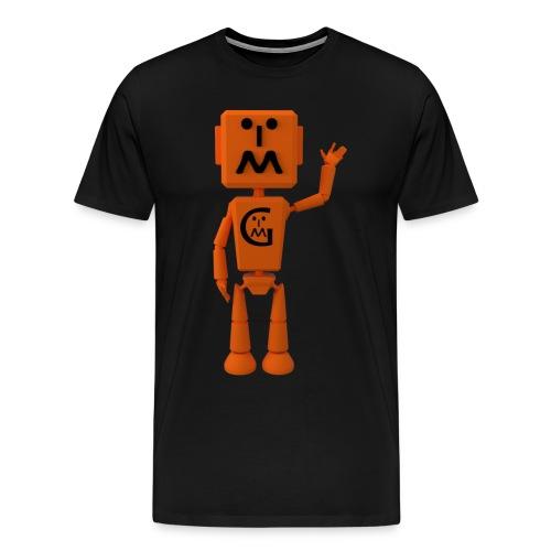 Myzbot Waving - Men's Premium T-Shirt