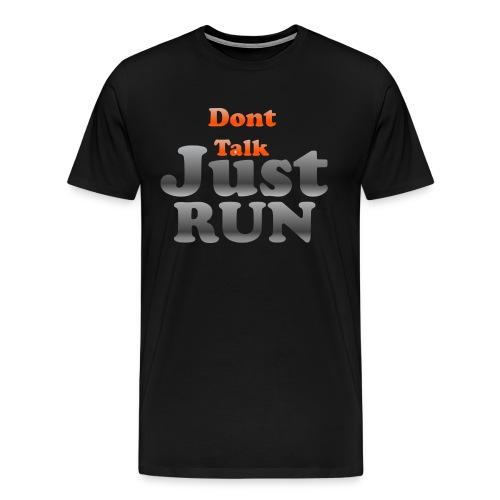 Just Run Limited Shirt, Motivation Laufen, Joggen - Männer Premium T-Shirt