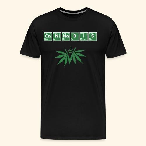 Cannabis Elemente Weed 420 - Männer Premium T-Shirt