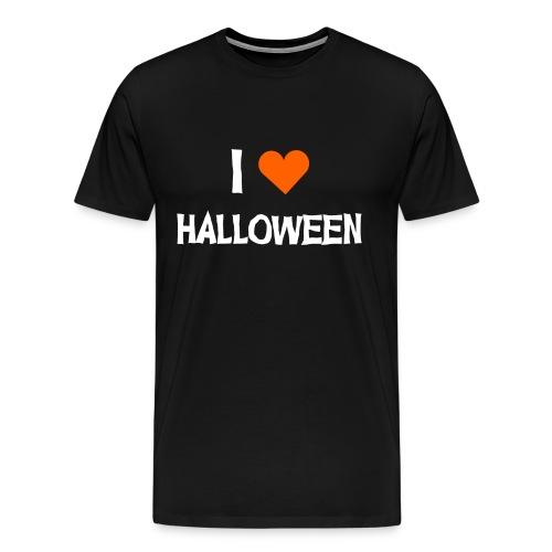 I <3 HALLOWEEN - Männer Premium T-Shirt