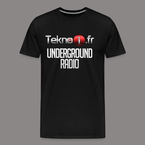 logo tekno1 2000x2000 - T-shirt Premium Homme
