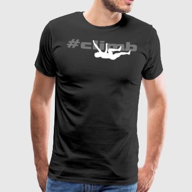 klättra man 2 - Premium-T-shirt herr