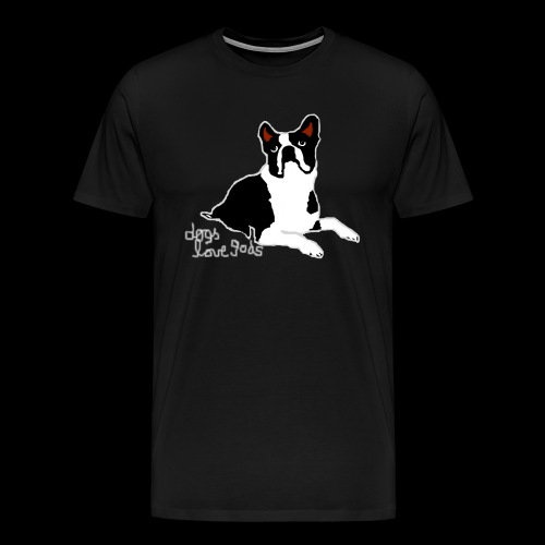 dogs love gods 2 - Männer Premium T-Shirt