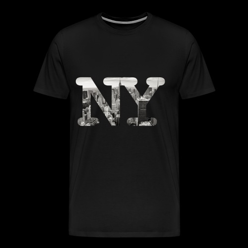 New York City Panorama - Männer Premium T-Shirt