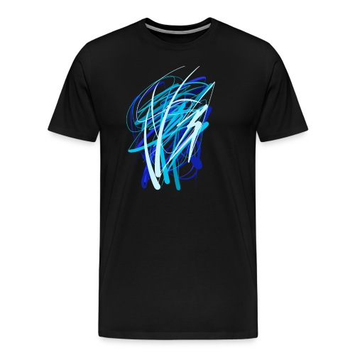 Blaue fünferkonstellation - Männer Premium T-Shirt
