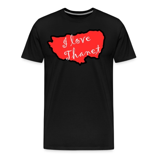 I Love Thanet - Men's Premium T-Shirt
