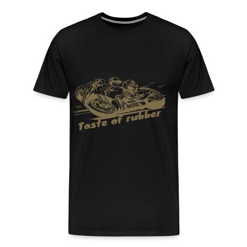 Geschmack von Gummi 2 gold - Männer Premium T-Shirt