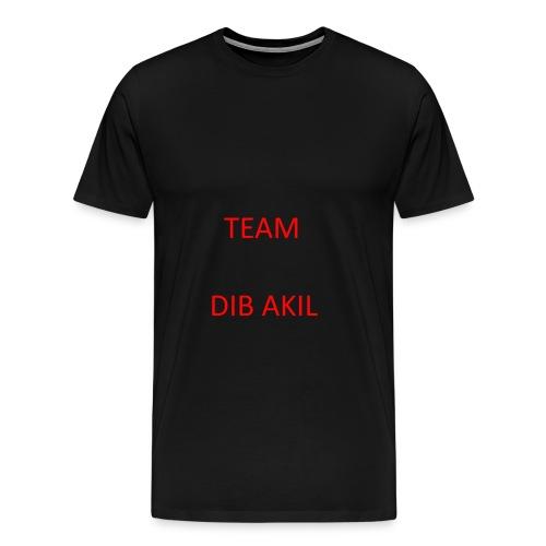 TEAM DIB AKIL - Männer Premium T-Shirt
