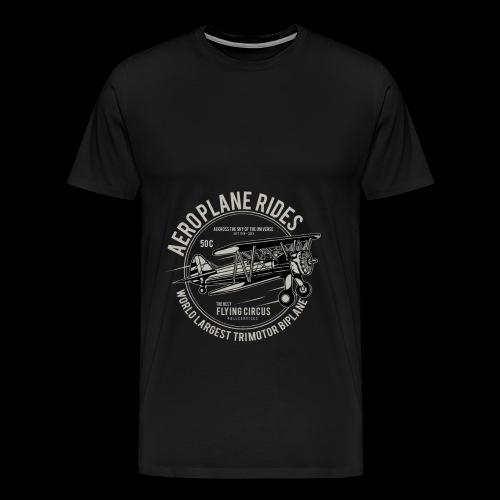 Aeroplane Ride - Männer Premium T-Shirt