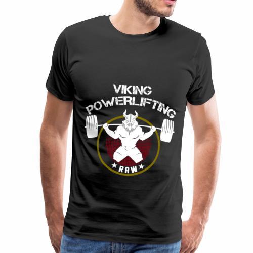 Viking Squat Bodybuilding Powerlifting Lifting Gym - Männer Premium T-Shirt