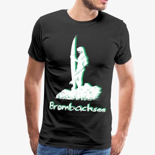 Shooting The Curl Brombachsee Surfing - Männer Premium T-Shirt