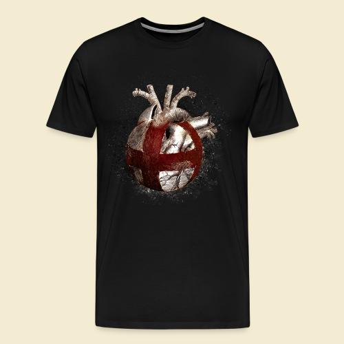Radball | Cycle Ball Heart - Männer Premium T-Shirt