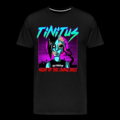 night of the living bass - Männer Premium T-Shirt