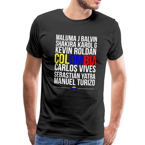 Reggaeton Shirt Kolumbien - Männer Premium T-Shirt