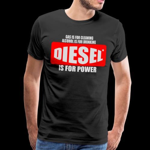 Diesel Power Feinstaub Erzeuger Trucker Tuning - Männer Premium T-Shirt